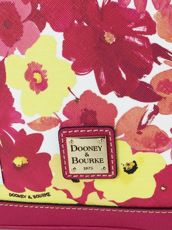 DOONEY & BOURKE SOMERSET WATERCOLOR ZIP ZIP SATCHEL