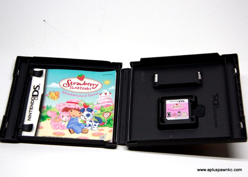 NINTENDO Nintendo DS Game STRAWBERRY SHORTCAKE STRAWBERRY GAMES