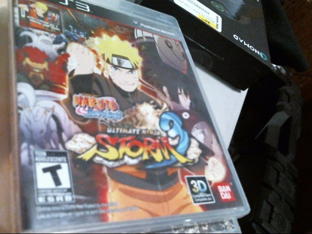 SONY PS3: NARUTO SHIPPUDEN ULTIMATE NINJA STORM 3