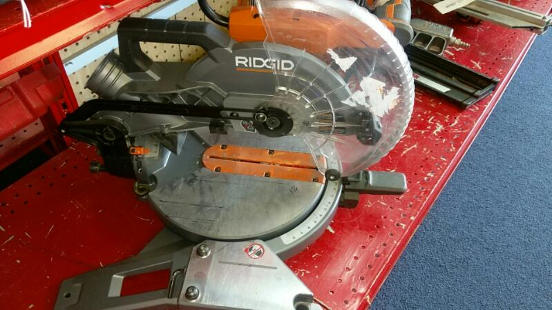 RIDGID TOOLS MITER SAW MODEL R4112