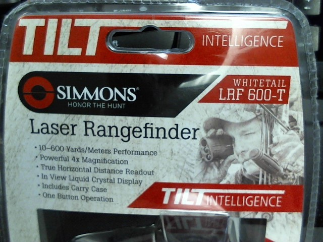 SIMMONS Hunting Gear RANGE FINDER TILT INTELLIGENCE
