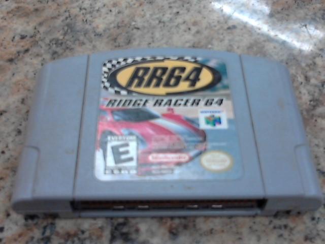 NINTENDO Nintendo Wii Game RIDGE RACER 64