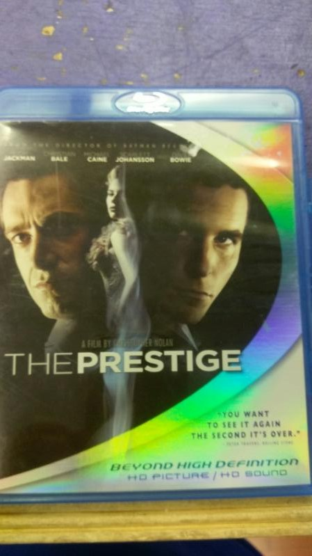 THE PRESTIGE BLUE RAY MOVIES