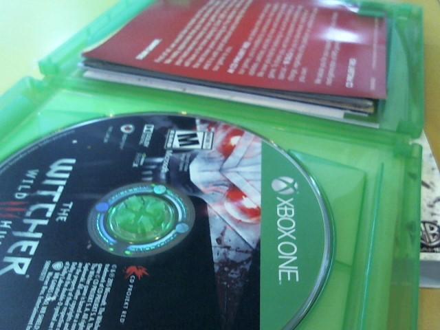 MICROSOFT Microsoft XBOX Game X BOX ONE THE WITCHER WILD HUNT