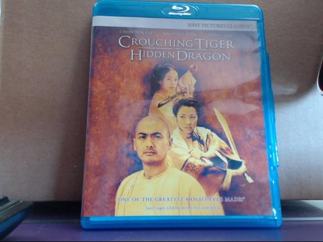 Blu-Ray CROUCHING TIGER HIDDEN DRAGON