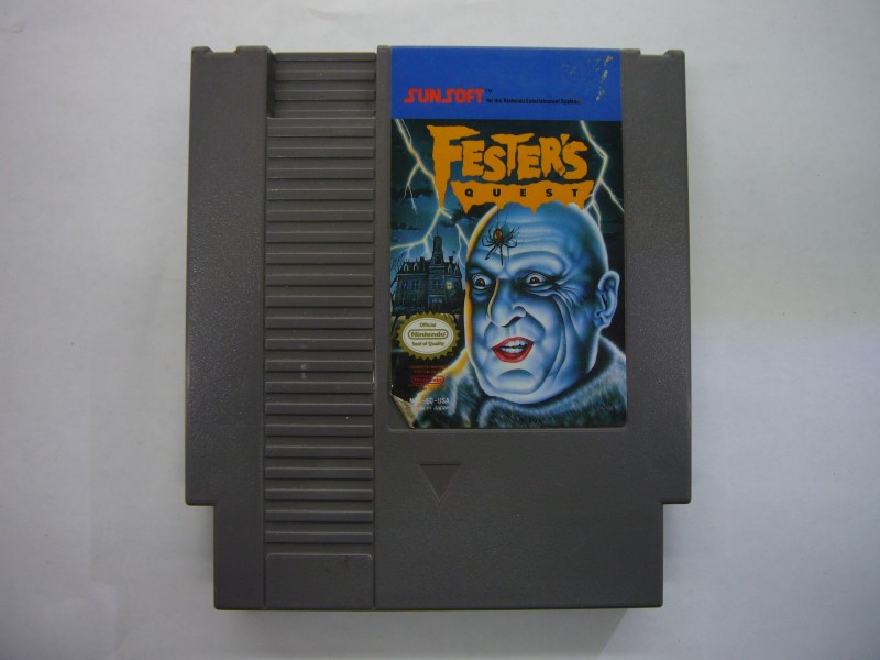 NINTENDO NES Game FESTERS QUEST *CARTRIDGE ONLY*