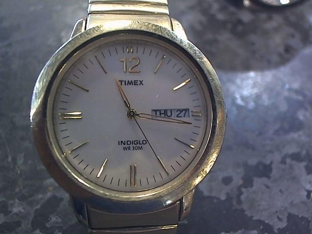 TIMEX Gent's Wristwatch INDIGLO WR 30M