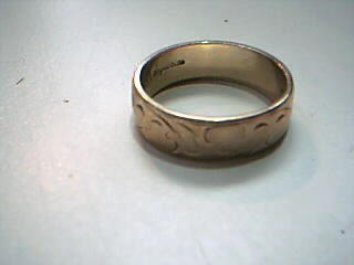 Lady's Gold Ring 10K Yellow Gold 3.8g Size:5.5