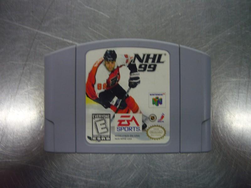 NINTENDO 64 Game NHL 99
