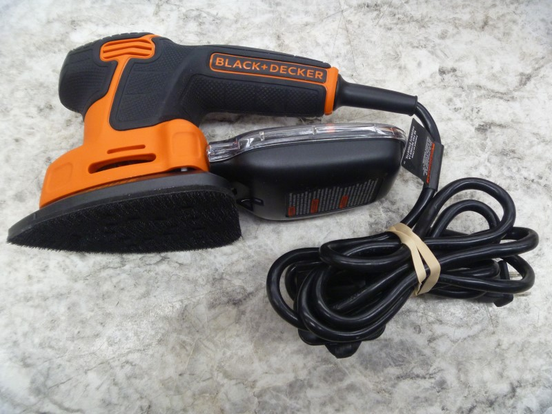 BLACK & DECKER BDEMS600 MOUSE CORDED DETAIL SANDER WITH MANUAL AND BOX **NEW**