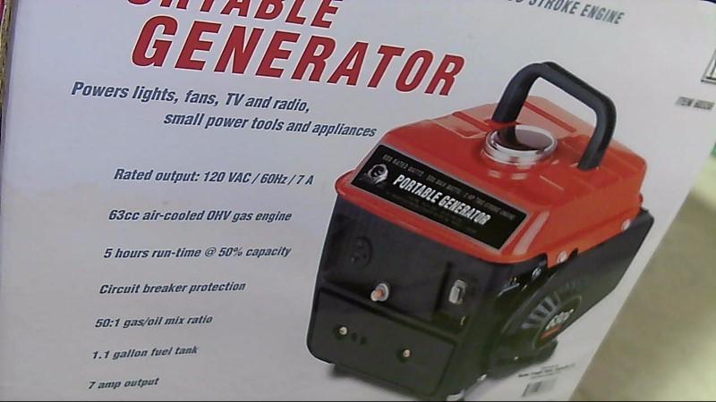 STORM CAT GENERATOR Generator 800 WATTS