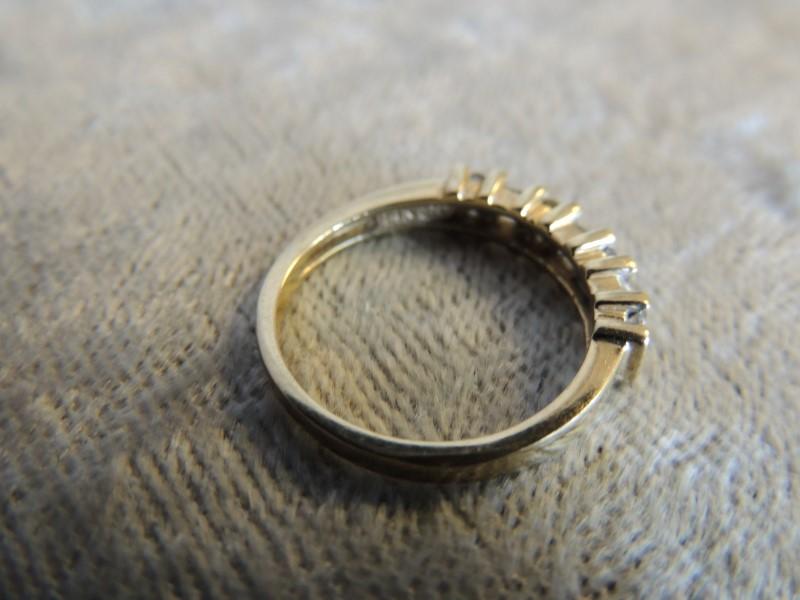 Lady's Diamond Fashion Ring 14 Diamonds .48 Carat T.W. 14K Yellow Gold 2.7g