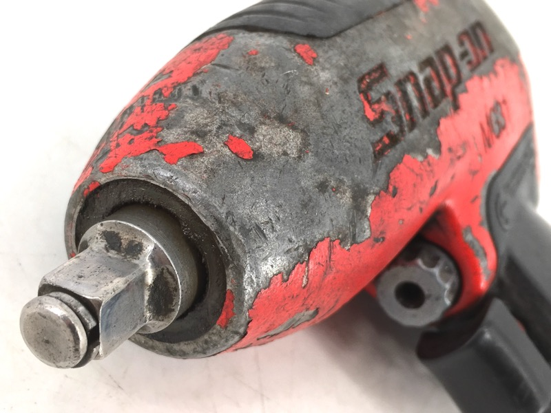 "SNAP ON MG31 1/4"" DRIVE AIR IMPACT WRENCH RED"