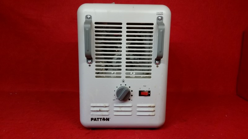 Patton Electric Utility Milkhouse Heater, PUH680-WM1