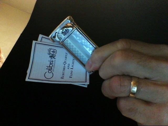 COLIBRI STAINLESS STEEL LIGHTER