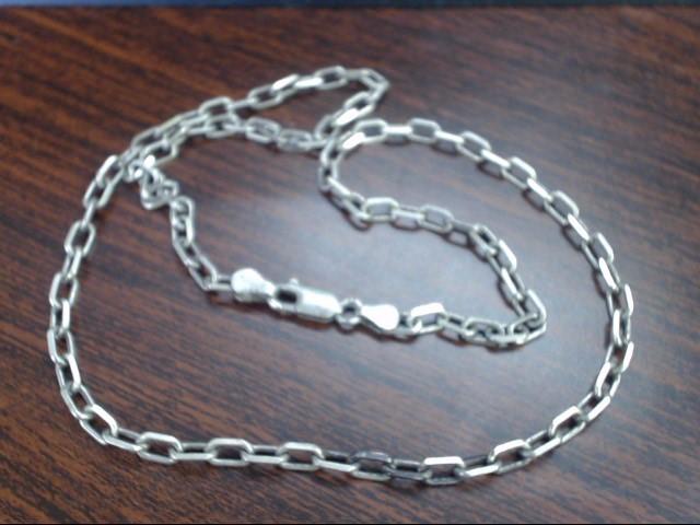 "18"" Silver Chain 925 Silver 10.8g"