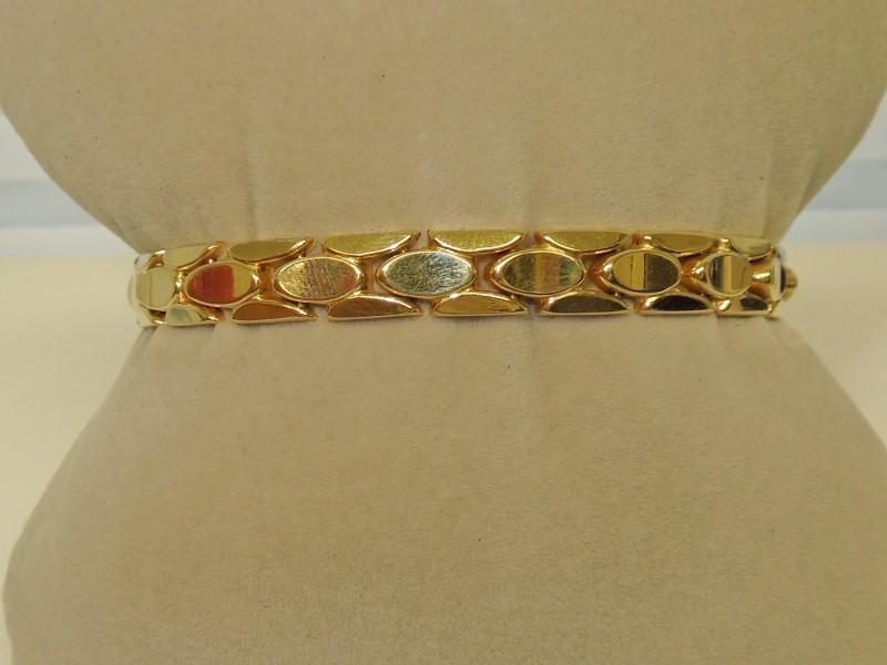 Gold Bracelet 14K Yellow Gold 13.2g
