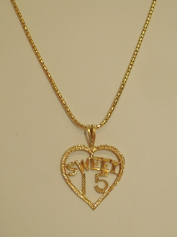 "18"" Gold Chain 14K Yellow Gold 3.3g"