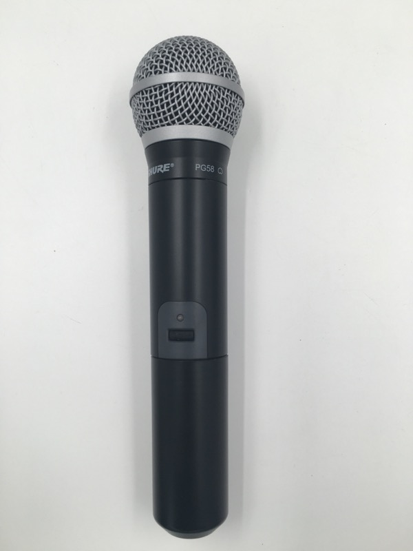SHURE PG4/PG58 HANDHELD LEAD VOCAL WIRELESS STAGE MIC SYSTEM