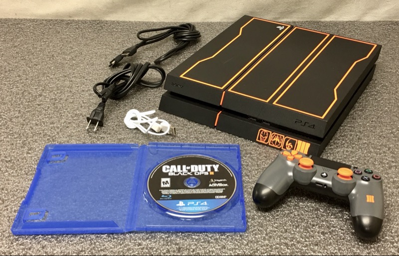 SONY PLAYSTATION 4 PS4 CUH-1215B (1TB) BLACK OPS III 3 LIMITED ED