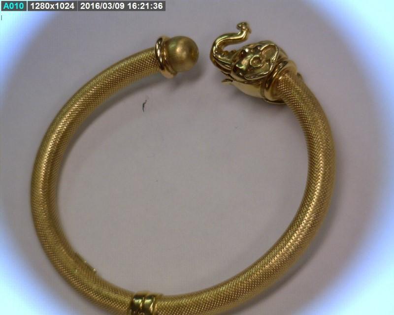 Gold Fashion Bracelet 14K Yellow Gold 12.32dwt