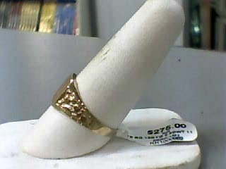 Gent's Gold Ring 10K Yellow Gold 2.5dwt Size:11