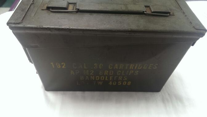 UNITED STATES AMMO CAN