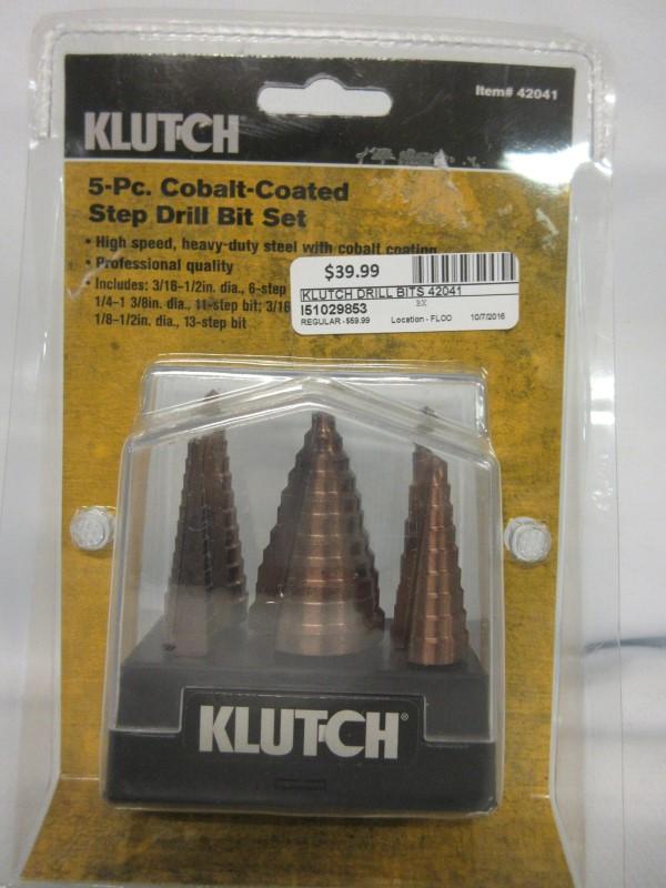 KLUTCH Drill Bits/Blades 42041