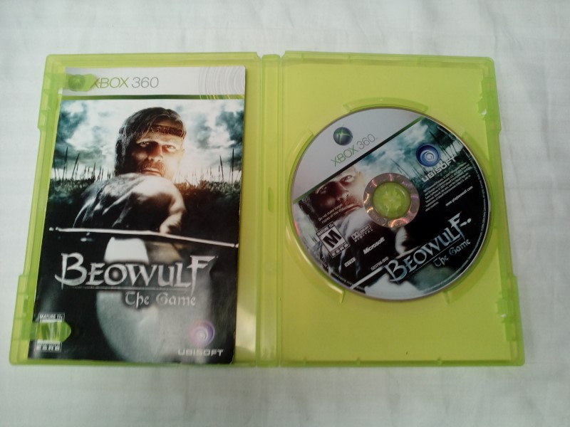 MICROSOFT XBOX 360 BEOWULF THE GAME
