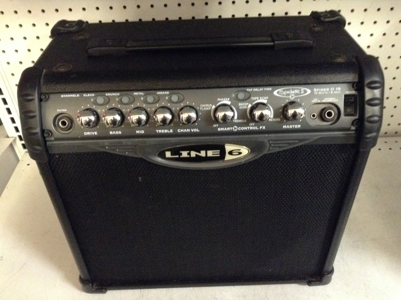 LINE 6 Electric Guitar Amp SPIDER II 15