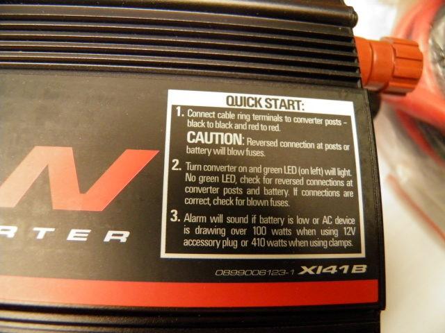 Schumacher Power Converter