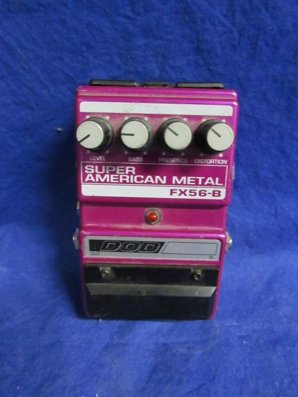 DOD FX56-B SUPER AMERICAN METAL DISTORTION PEDAL