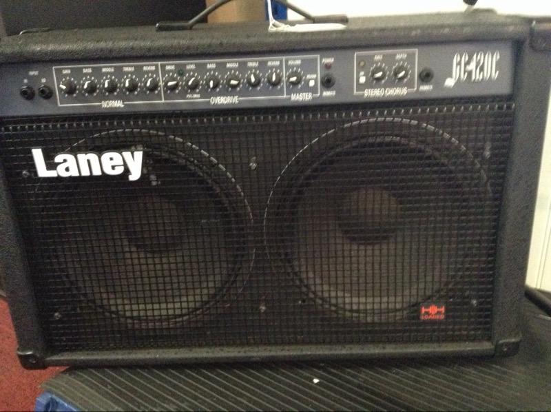 LANEY Electric Guitar Amp GC 120C