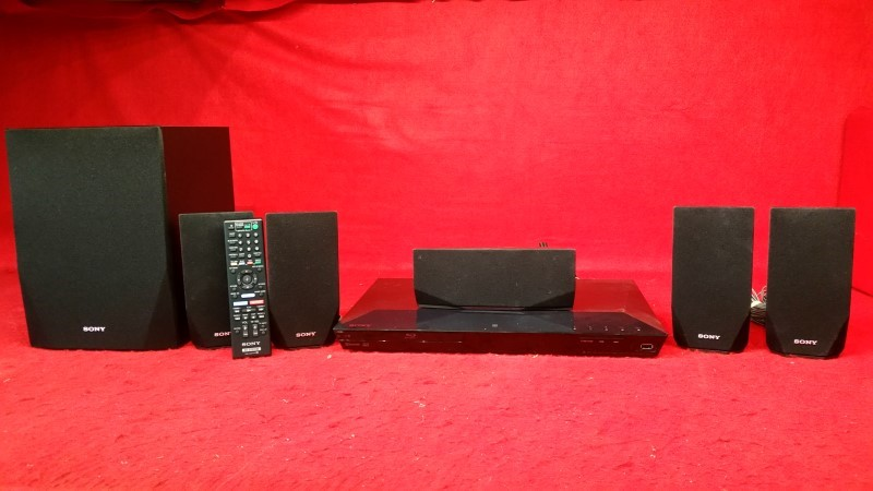 Sony BDV-E2100 - Blu-Ray Home Theater System - 5.1 Channel