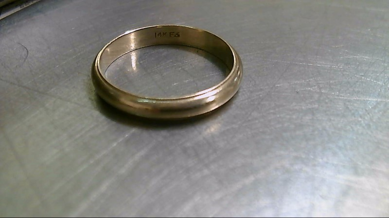 Gent's Gold Wedding Band 14K Yellow Gold 3.67g
