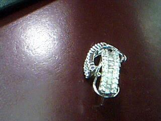 Gold-Diamond Earrings 86 Diamonds 1.62 Carat T.W. 14K White Gold 4.62g