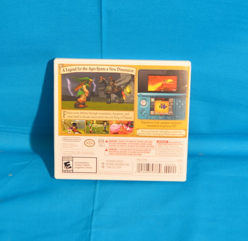 NINTENDO Nintendo 3DS Game THE LEGEND OF ZELDA OCARINA OF TIME 3D