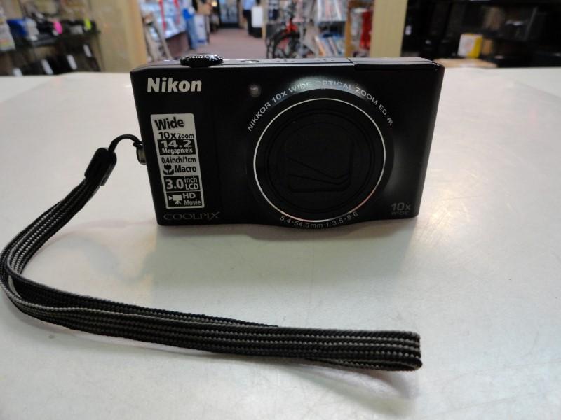 Nikon Coolpix S8000 Digital Camera - NO Charger