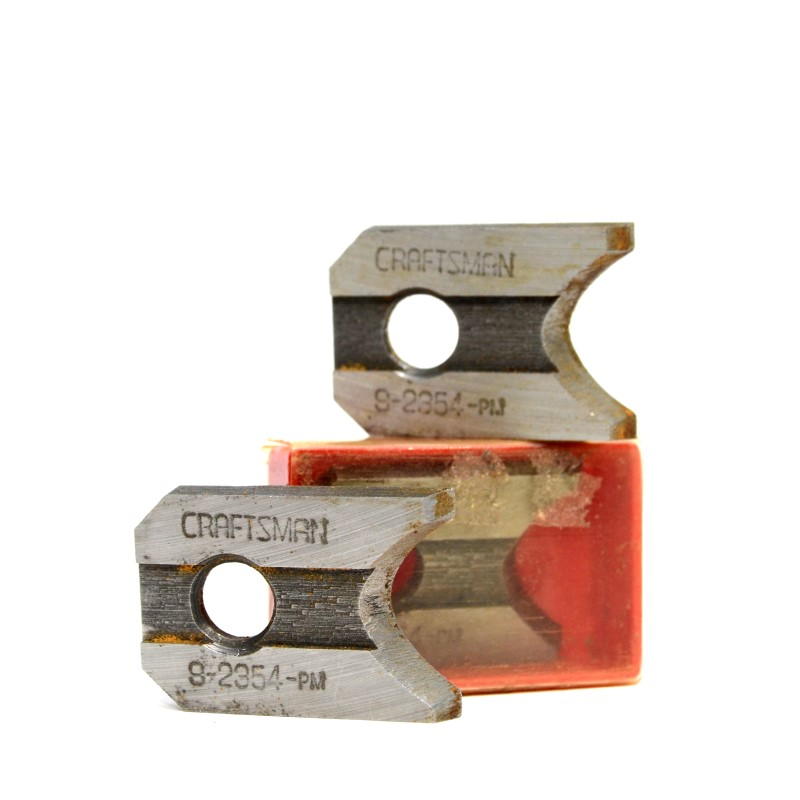 Craftsman Molding Head and Combination Cutter Bit Set 18 Blades! >
