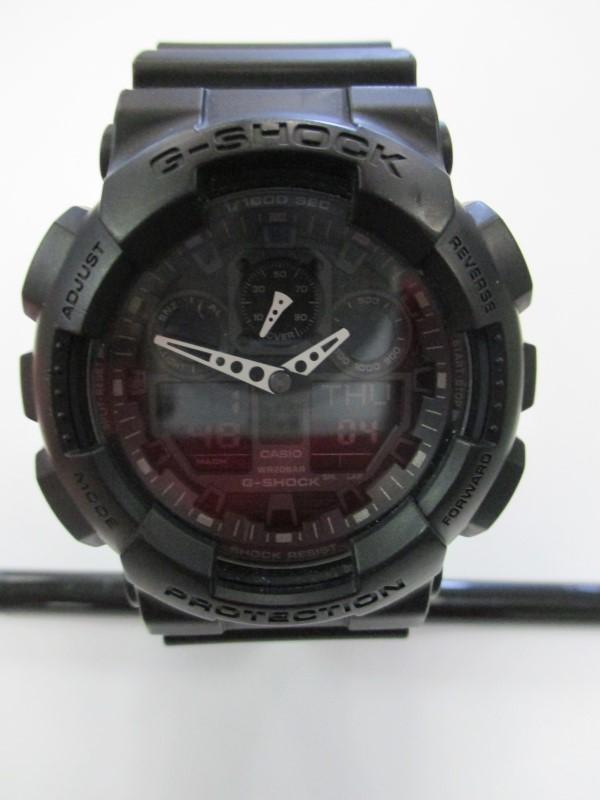 CASIO Gent's Wristwatch G SHOCK GA 100