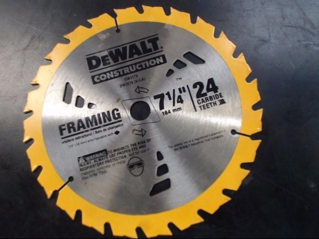 DEWALT CIRCULAR SAW BLADE DW3178