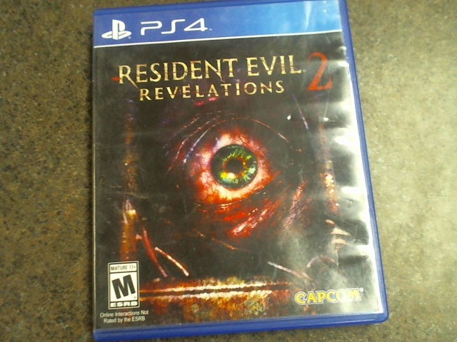 SONY PlayStation 4 Game RESIDENT EVIL 2 REVELATIONS - PS4