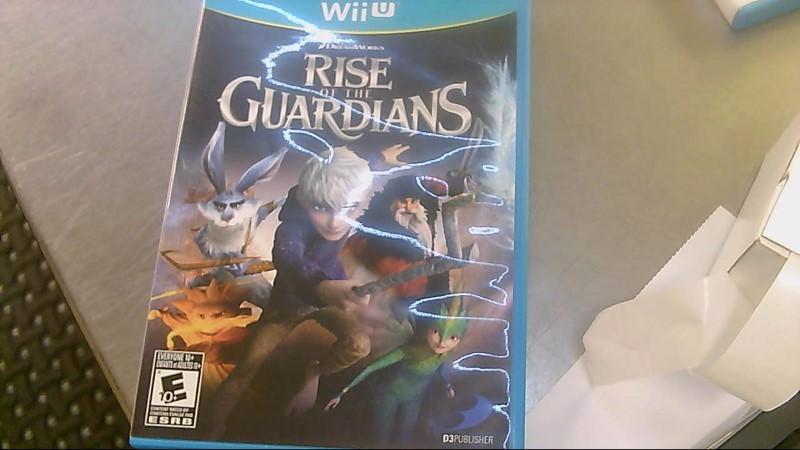 NINTENDO Nintendo Wii U Game RISE OF THE GUARDIANS