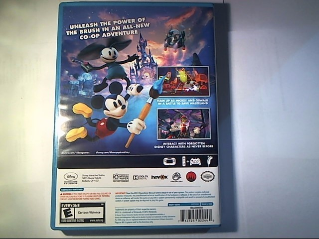 NINTENDO Nintendo Wii U Game EPIC MICKEY 2 THE POWER OF TWO