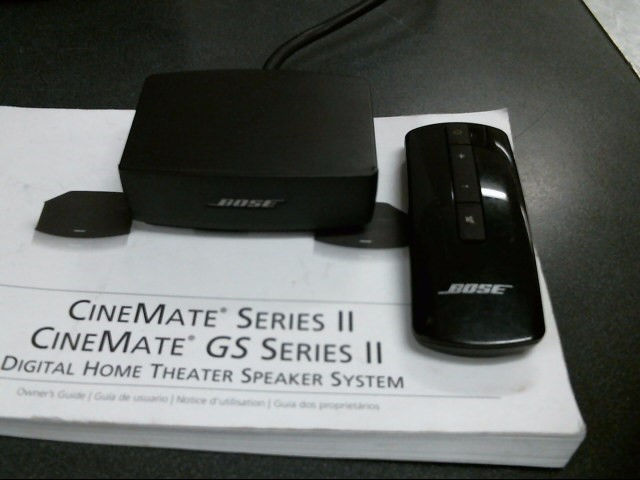 BOSE Home Theatre Misc. Equipment CINEMATE GS SERIES II