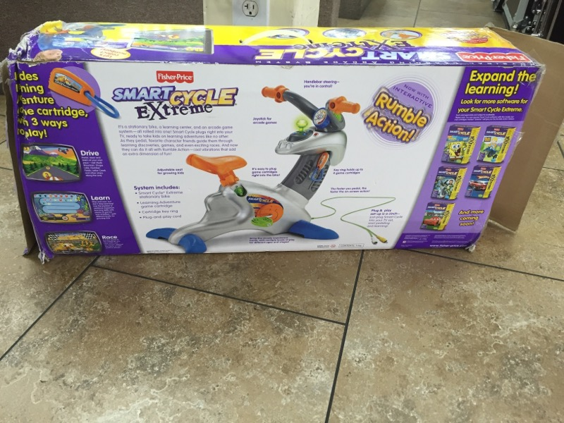 FISHER PRICE Miscellaneous Toy SMART CYCLE