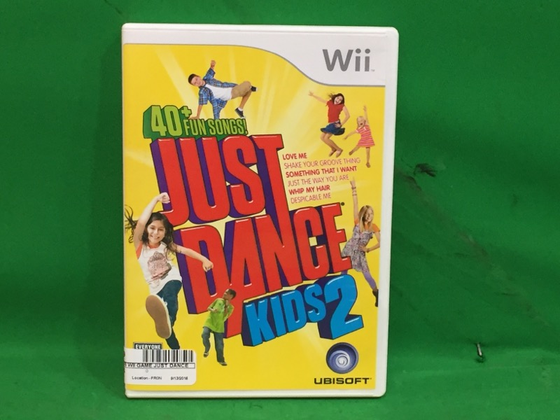 Just Dance Kids 2 (Nintendo Wii, 2011) 40+ Songs
