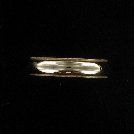 Gent's Gold Wedding Band 14K Yellow Gold 3.8dwt