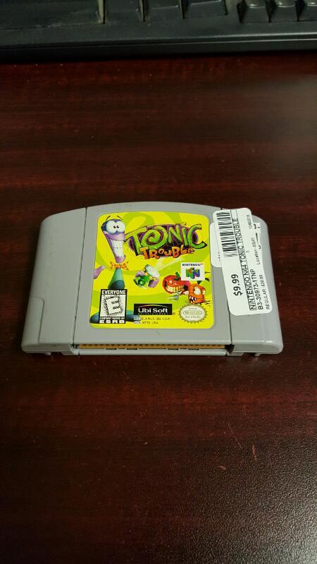 Tonic Trouble (Nintendo 64, 1999) N64 - FREE SHIPPING