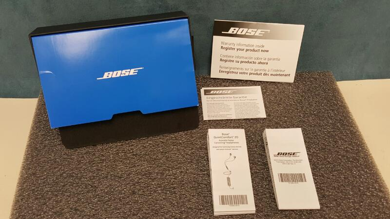 Bose QuietComfort 20 Headphones, Black